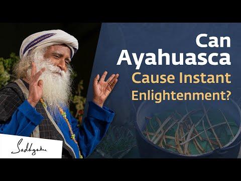 Can AyahuascaGive An Intense Spiritual Experience? Sadhguru Answers