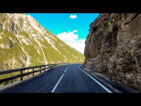Driving the Flexen Pass, Hahntennjoch & Holzleiten Saddle, Austria