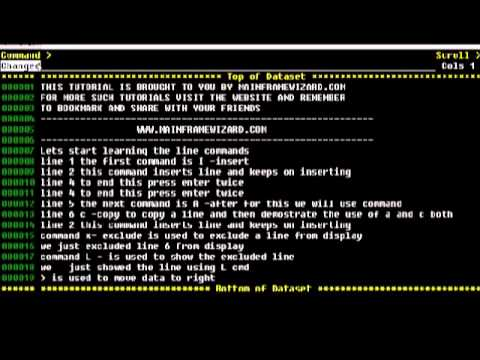 tso line commands