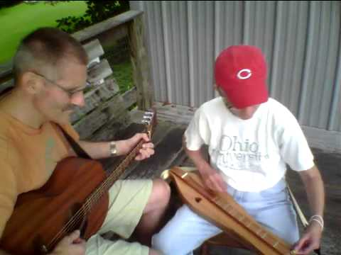 Poplar Pole - lap dulcimer played in noter/drone style and guitar