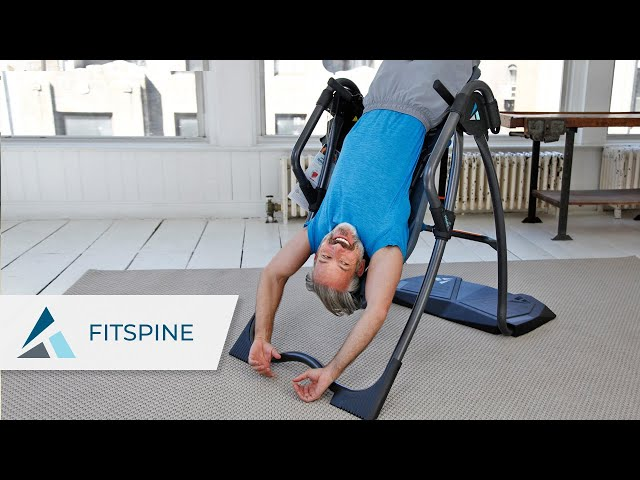 Relieve back pain with Teeter FitSpine Inversion Tables