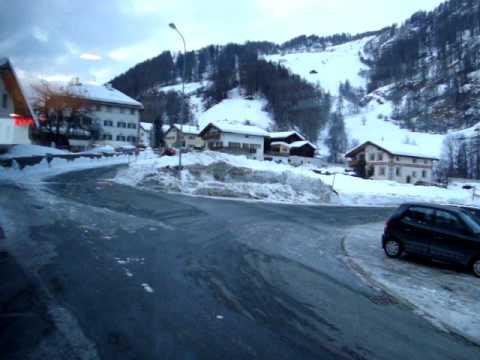 Romansh Switzerland - between Santa Maria Val Müstair and Valchava