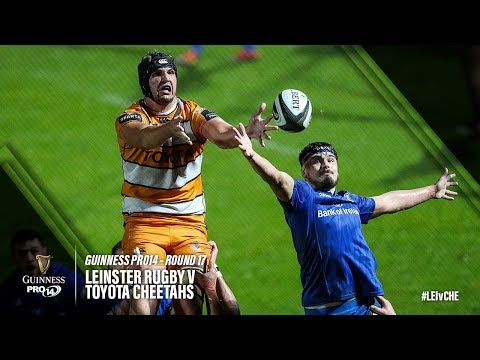 Guinness PRO14 Round 17 Highlights: Leinster Rugby v Toyota Cheetahs