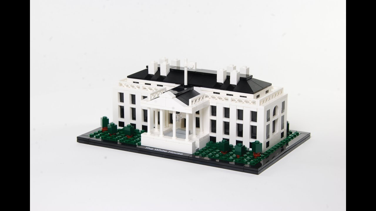 lego® 21006 the white house in stop motion - youtube
