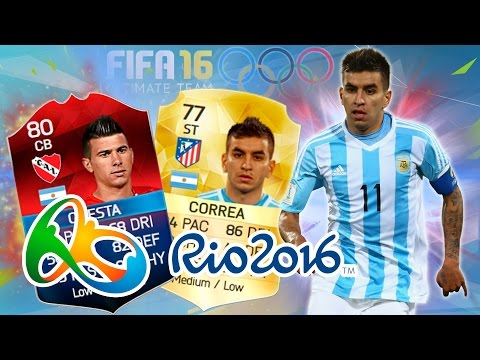 ARGENTINA Road to RIO 2016 Fútbol! Plantilla FIFA 16 Ultimate Team FUT