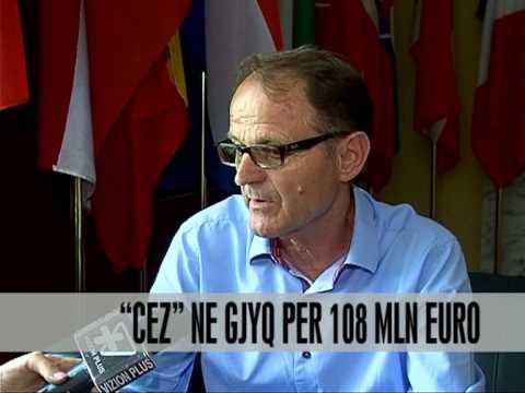 CEZ në gjyq për 108 milionë euro - Vizion Plus - News - Lajme