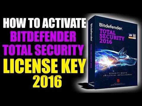 Bitdefender Internet Security 2016 License Key - Bitdefender Activation Code 2016