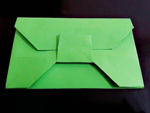 Easy Origami Envelope ll DIY Paper Envelope ll Envelope Series # 10