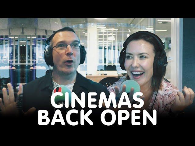 Cinemas are back open! | Hit105