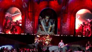 "AVENGED SEVENFOLD - HAIL TO THE KING - ""LIVE"" ROCKSTAR MAYHEM , SAN BERNARDINO CA"