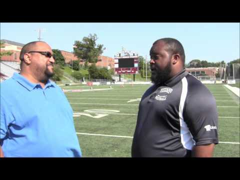 Head Football Coach Greg Greene of The Durham Titans