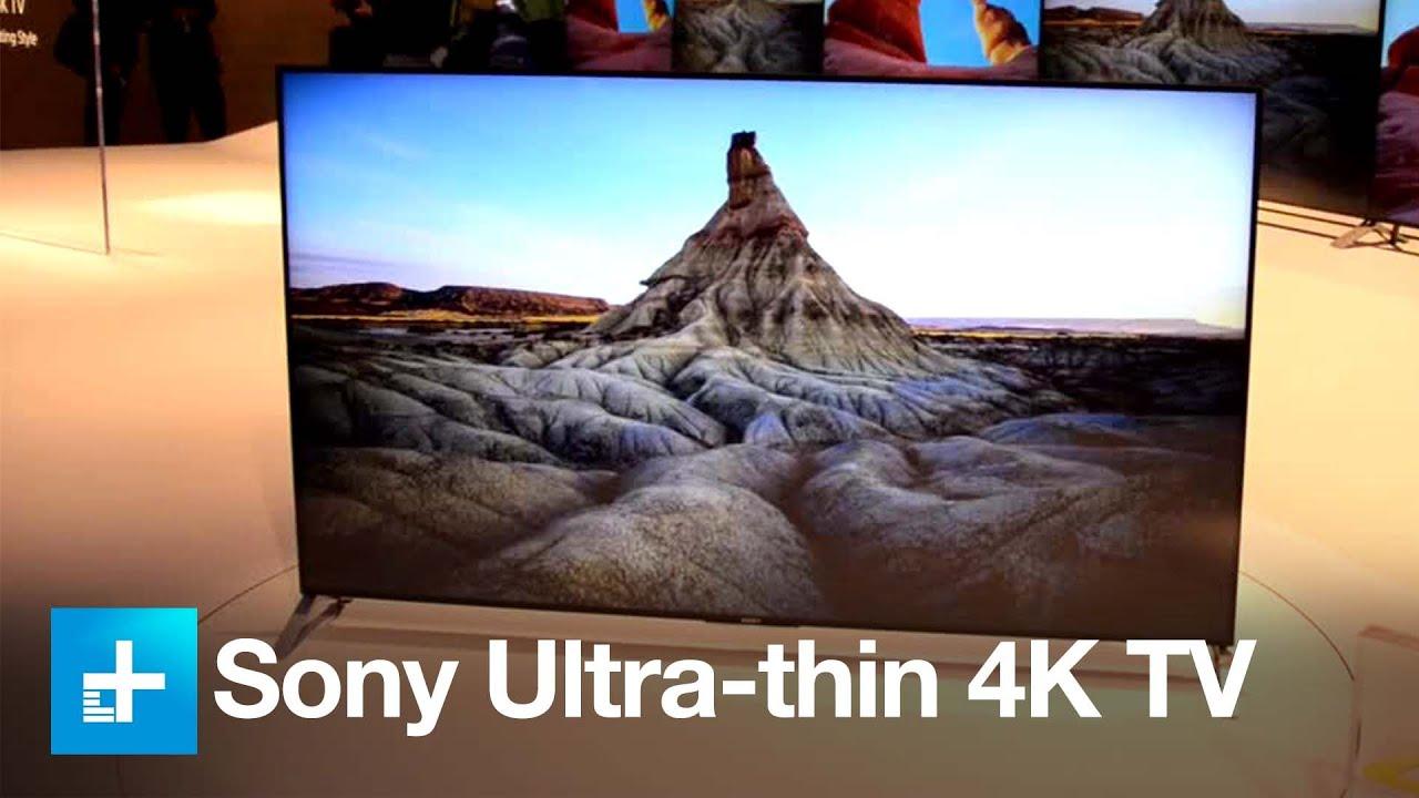 Sony X900C 4K TV