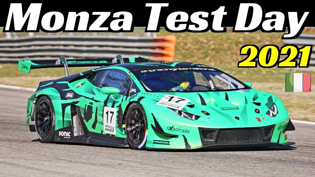 Kateyama Test Day at Monza Circuit, March 2021, Honda NSX GT3, Bentley GT3, 488 GT3, Civic TCR, etc