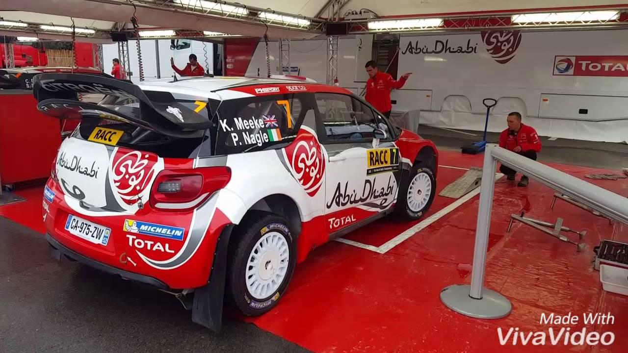 Citroën World Rally Team Spain 2016!! Cars, Drivers! #irishrallyfans ...