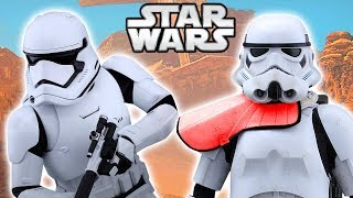 How the First Order Improved Imperial Stormtroopers - Star Wars Explained thumbnail