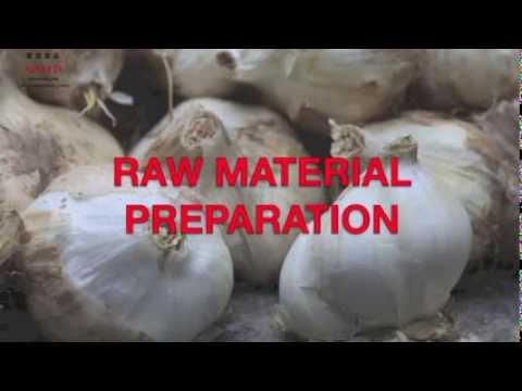 AD&FD Dehydrators Linyi Shandong China - Garlic processing movie- FIE Frankfurt 2013