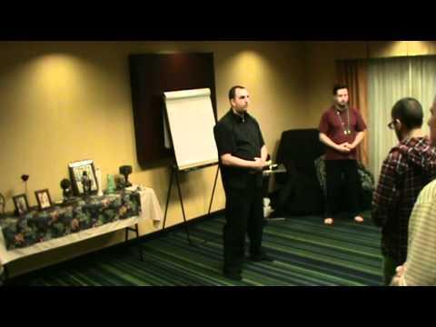 Chi-Gong basics with MahaVajra