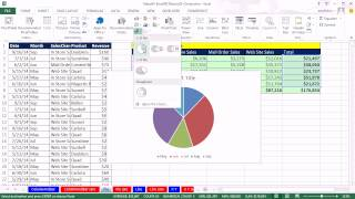 Office 2013 Class 43, Excel Basics 25, Excel 2013 Charts: Chart Types, Chart Formatting, more