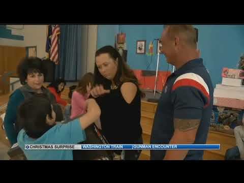 Pueblo West man brings holiday cheer to Avondale Elementary families