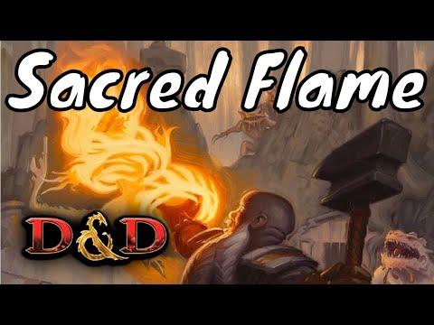 Sacred Flame D&D 5E Spell