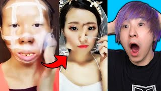 these tik tok makeup transformations will make u question your existence