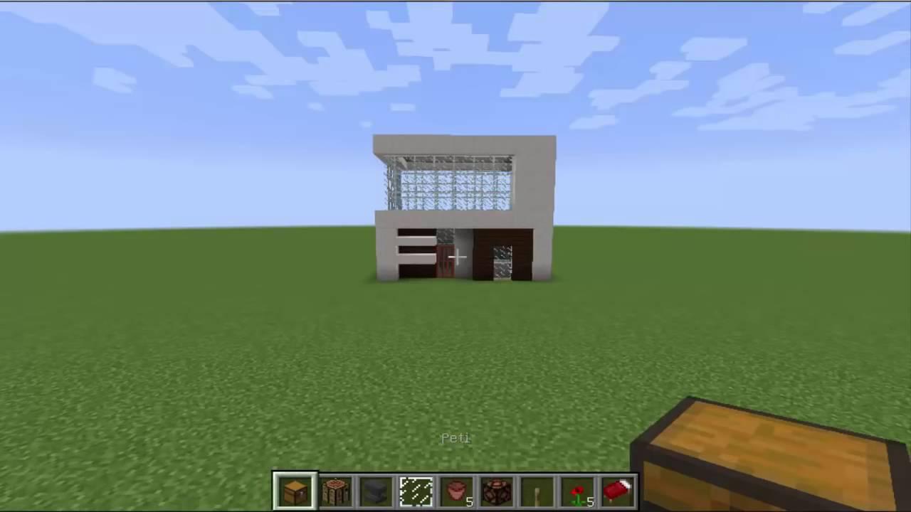 Tutorial Cara Bikin Rumah Kecil Modern Di Minecraft Part 1 & Tutorial Cara Bikin Rumah Kecil Modern Di Minecraft Part 1 - YouTube