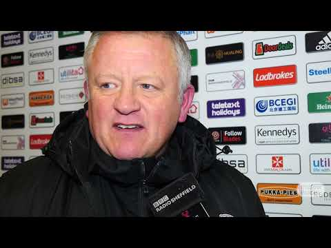 Chris Wilder's Bristol City reaction