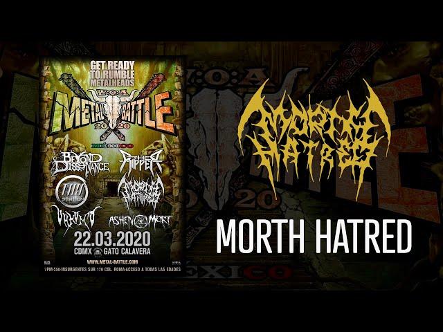 Morth Hatred en W:O:A Metal Battle México 2020