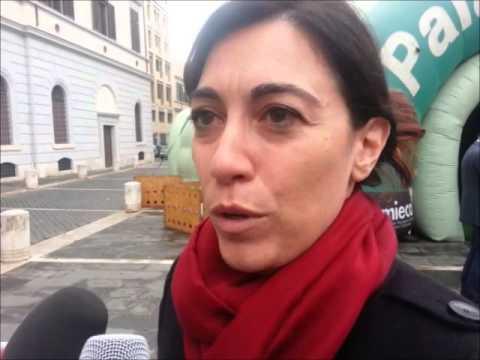 Inaugurazione PalaComieco Roma, parla Estella Marino (video Agenzia DIRE)