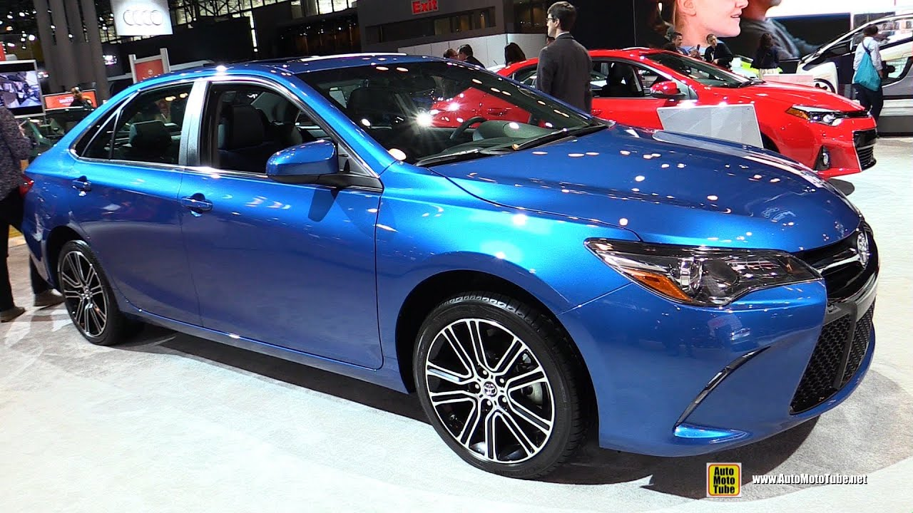 2016 toyota camry se special edition exterior and interior walkaround 2015 new york auto. Black Bedroom Furniture Sets. Home Design Ideas