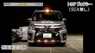 Crash Test Toyota Alphard 2017