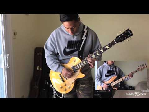 Pixies - Gigantic guitar & bass cover