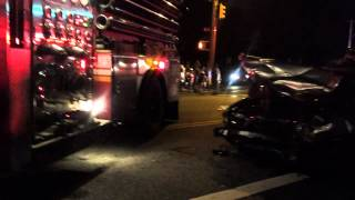 Accident Aftermath in Canarsie Brooklyn
