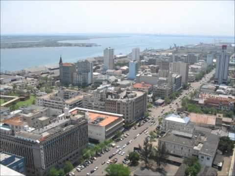 Maputo The Beautiful Capital of Mozambique.wmv