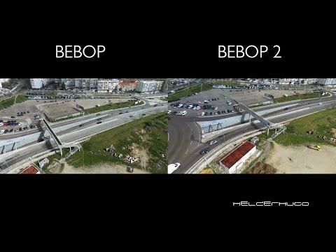 Parrot Bebop and Parrot Bebop 2 Cameras comparison