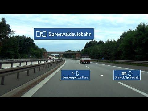 🇩 A15: [PL] Grenze - AD Spreewald (4x)