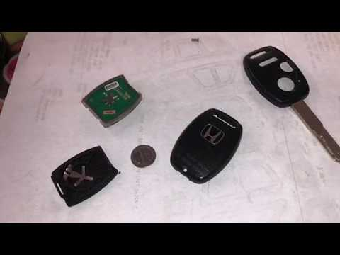 How to replace a battery Honda key Fob