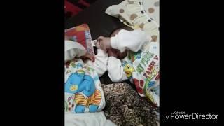 Bayi kembar berantem