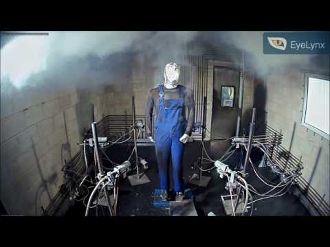 Flame Resistant Anti Static Test