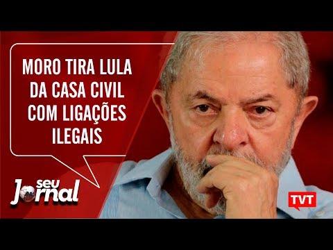 Moro tira Lula da Casa Civil com ligações editadas e ilegais