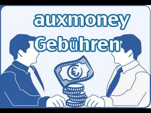 Auxmoney Kosten
