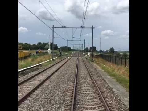 Hoekse Lijn metro traject Maassluis Hoek van Holland