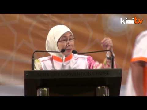 Wan Azizah: Air mata basahi pipi sekejap saja
