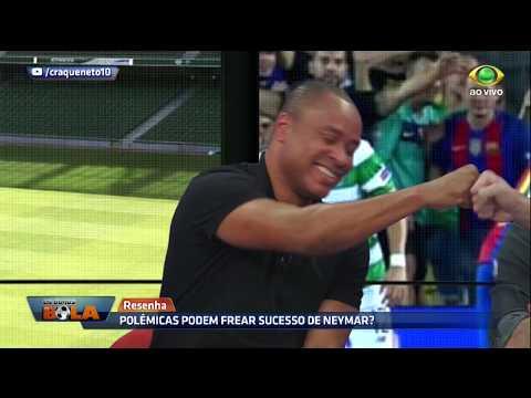 Paulo Sérgio: deixa o Neymar bater!