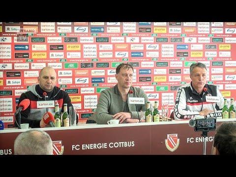 32. Spieltag | FCE - SGD | Pressekonferenz nach dem Spiel