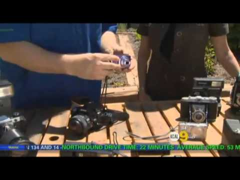 Gardening Photography with Nick Federoff on KCAL 9 News