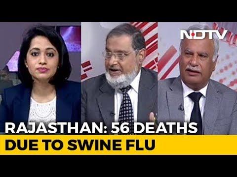 Spike In Swine Flu Cases In Rajasthan