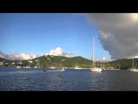Flyboarding In St. Thomas