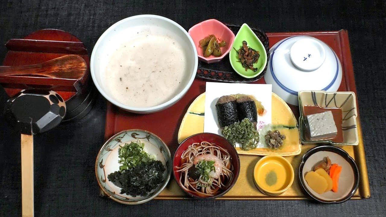 【とろろめし】三重県最強の自然薯専門店!とろろめしをすすり、しかもストローですすり、最後のプリンもすする!?