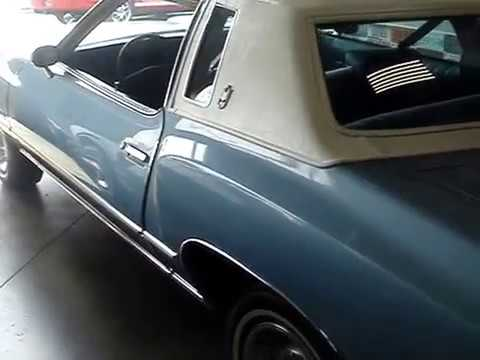 1977 Chevy Monte Carlo The Landau Sport Coupe Youtube